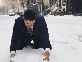 #SnowBae Trevor Noah