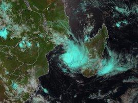 Tropical storm Mozambique