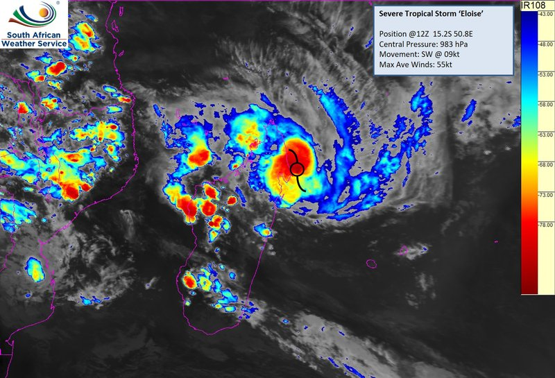 Tropical storm Tuesday