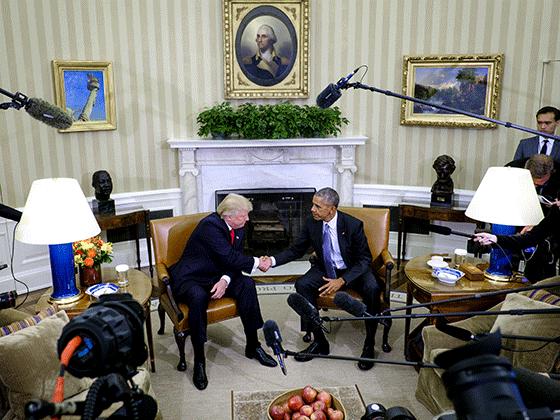 Donald Trump, President Obama