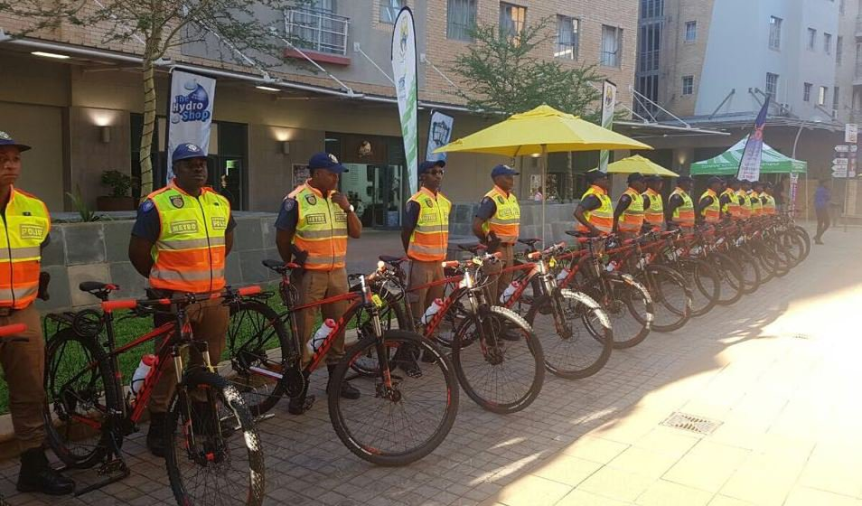 Tshwane Bicycle unit
