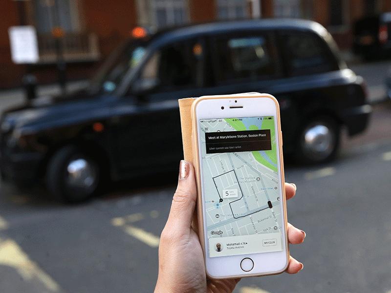 Uber App UK