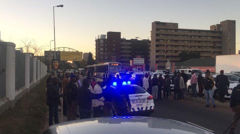 Uber violence Pretoria