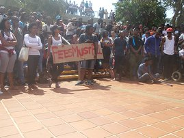 UKZN Fees protest