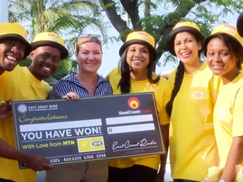 Surprising unsuspecting people with cash and love from MTN