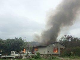 Verulam home gutted in fire after quarrel