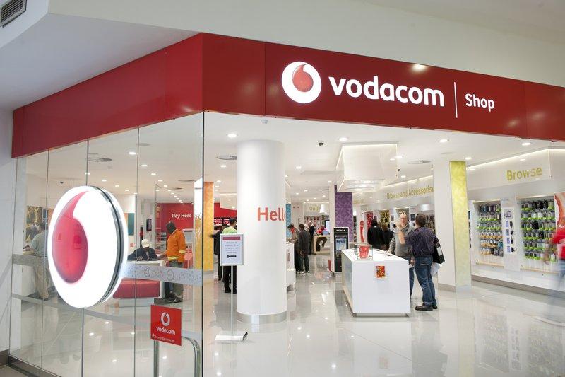 Vodacom store