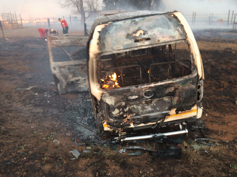 Fatal Vryheid fire
