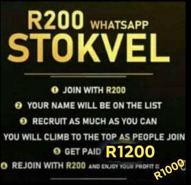 WhatsApp stockvel