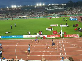 Wayde Diamond League