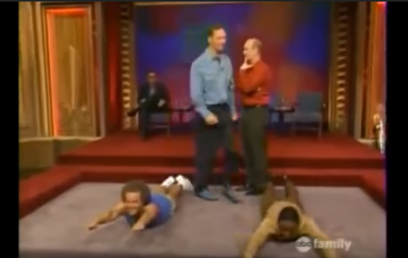 Richard simmons whose line