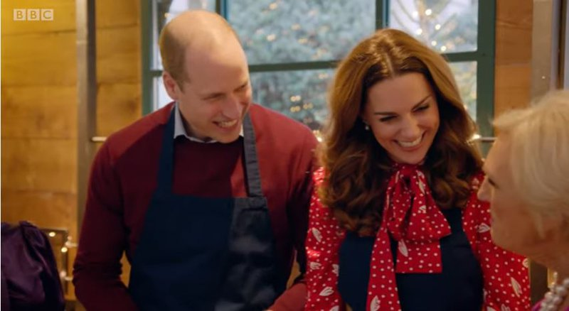 Prince William and Kate on BBC's 'A Berry Royal Christmas'