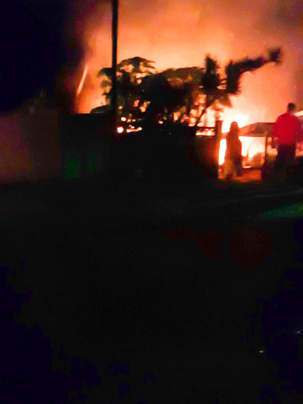 Man escapes unharmed as fire engulfs Winklespruit home
