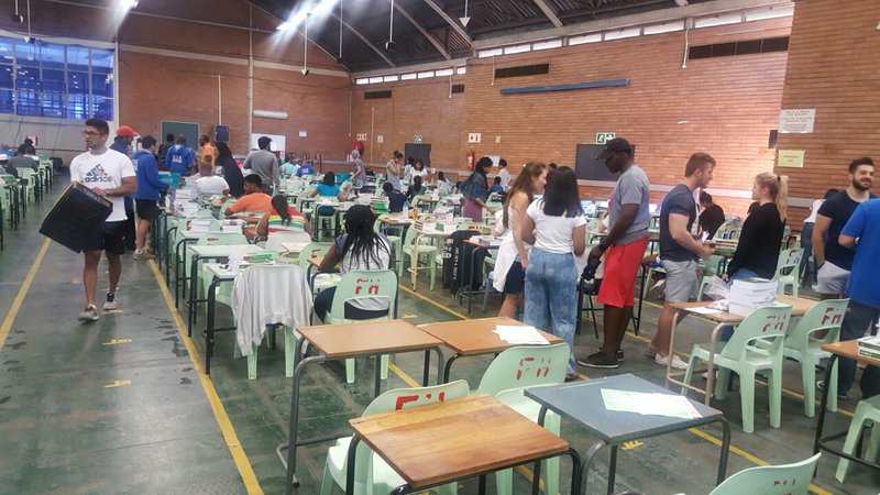 Wits students exam