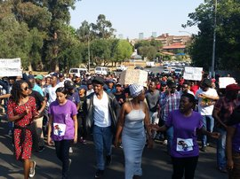 Wits students march_jacanews