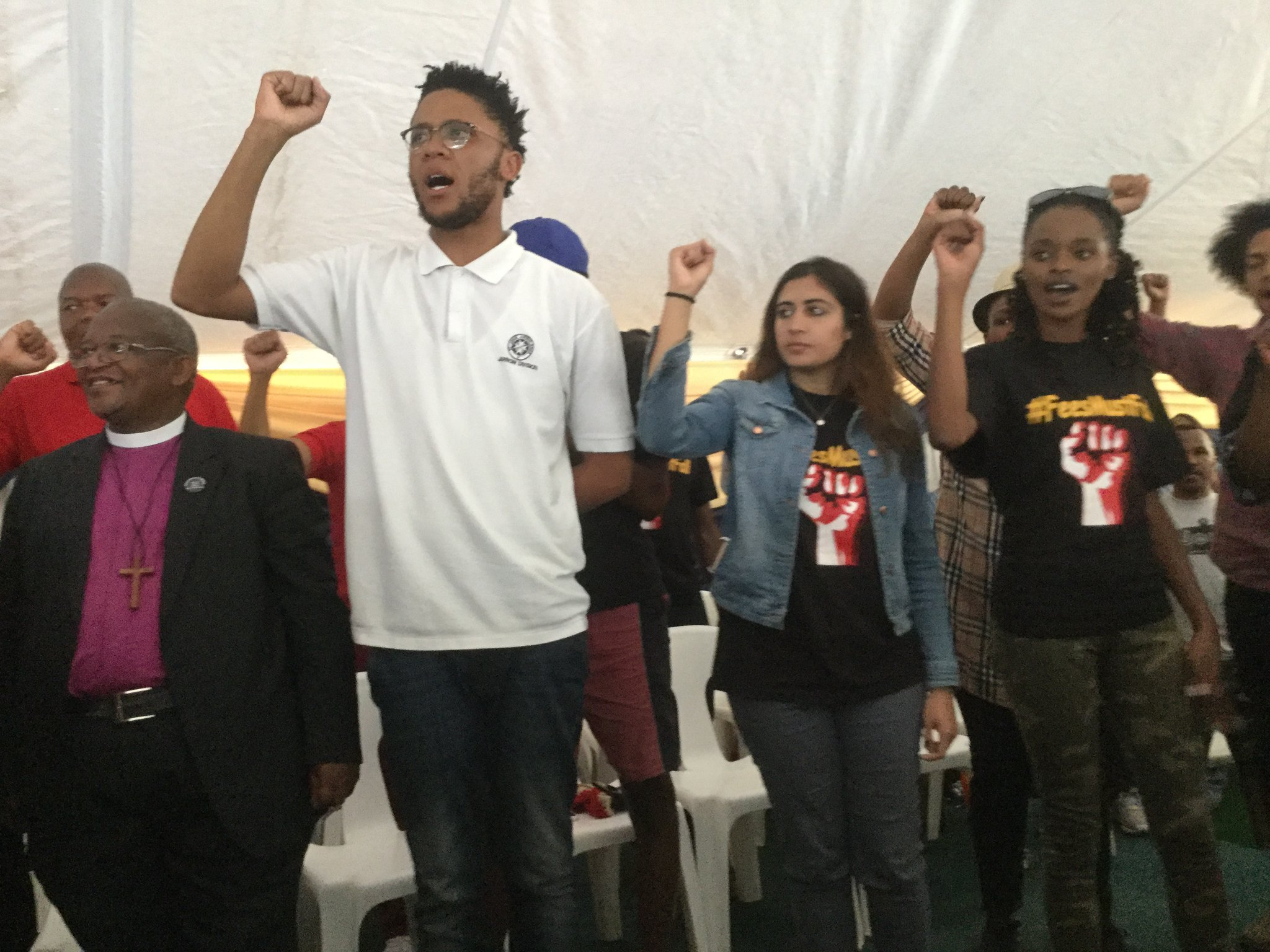 Wits students remain resolute