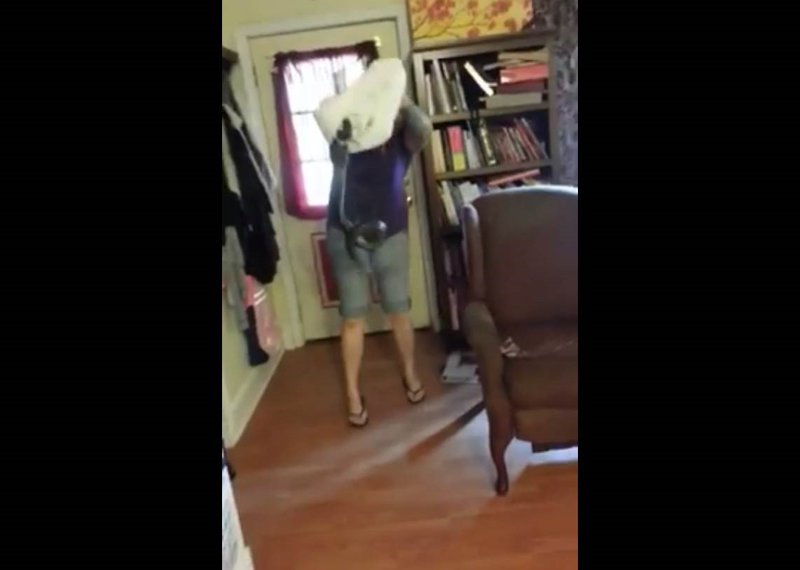 Not this house! NC woman removes snake from her living room