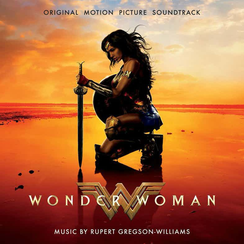 Wonder Woman soundtrack cover art