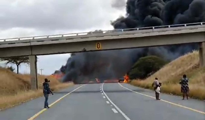 N2, Hluhluwe crash