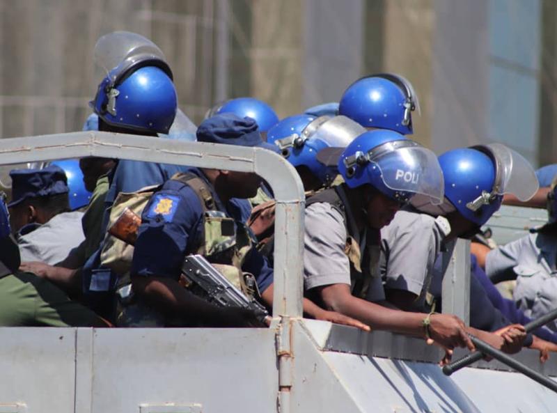 Zimbabwe arrests