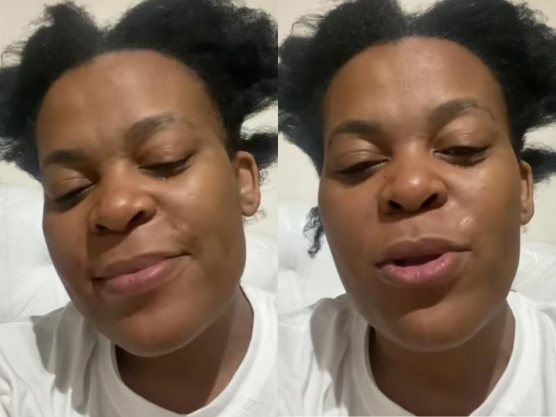 Zodwa Wabantu Hackers Instagram video
