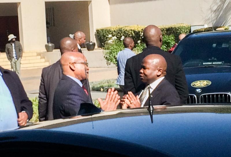 Jovial Zuma bemoans illegal land grabs