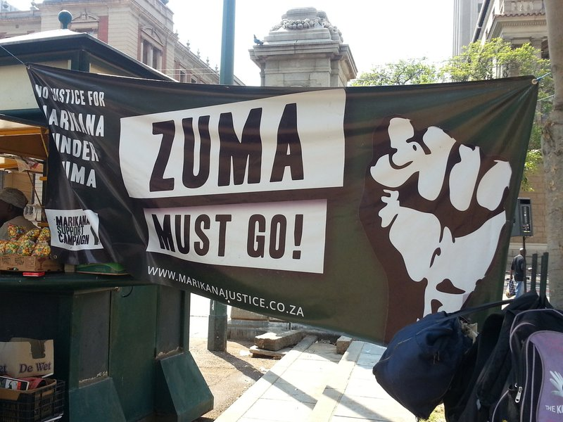Zuma must go march_jacanews